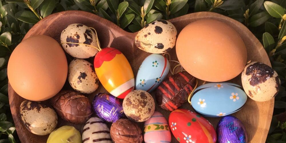 Op eieren lopen